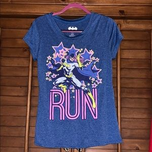 Bat Women Run Blue T-shirt XL 15-17